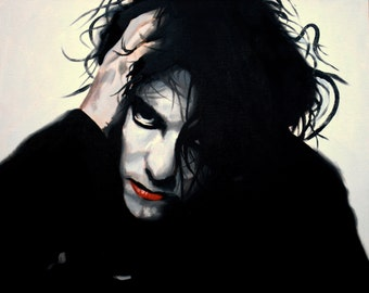 Robert Smith Fine Art Print (Goth - Post Punk - Lovecats - The Cure - Music Portraits - Icons)