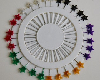 Star Shaped Pin Wheel