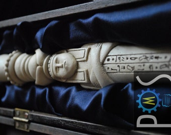 Young Sherlock Holmes and the Pyramid of Fear - Rametep Blowpipe Prop Replica