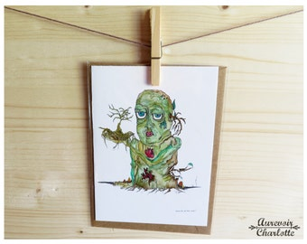 Michael 5x7 Note Card with Envelope