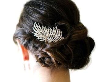 Wedding Hair Comb, Bridal Hair Comb,  Bridal Hairpiece, Bridal Hair Accessories, Bridal Headpiece, Wedding Hair Ornament.