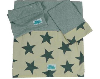Bed sheet for bed. Sand Star