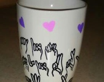 American Sign Language Mug