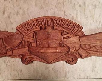 Solid Mahogany Expeditionary