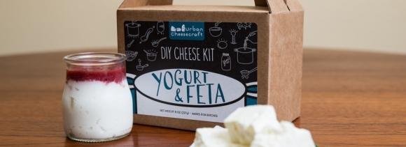 Feta, Greek Yogurt & Yogurt Cream Cheese DIY Kit- 8 and 24 batches