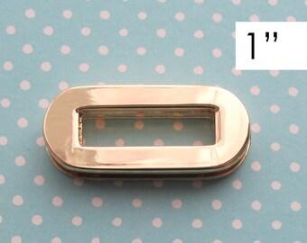 Eyelet 1 Inch Gold Plated | Handbag Hardware | Gold Grommet | Oval Grommet | Oval Eyelet