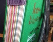 Kerbloom letterpress volume 3 green