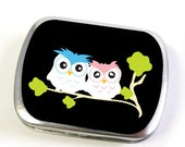 Owl Storage Tin Box