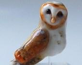 Custom Order for Denise:  Lampwork Glass whimsical handmade focal bead  by Marcy Lamberson