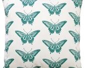 NEW 16x16 swallowtail butterfly pillow