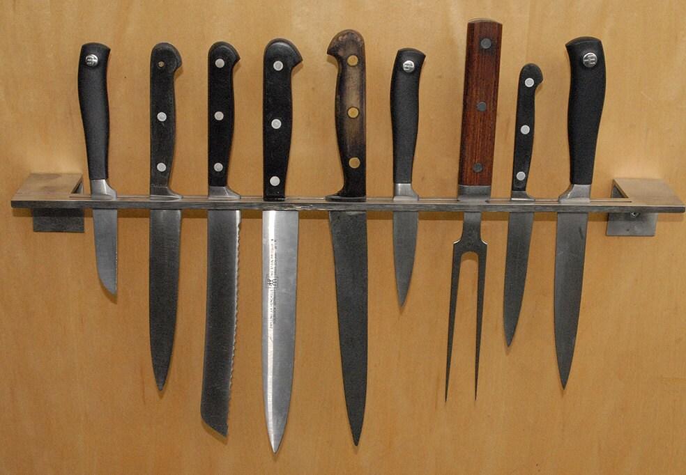 kitchen knife rack modern sleek minimal modern by