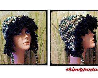 Skippy's Fantastic Cozy Camo Earflap Winter Hat