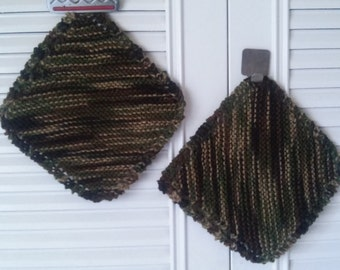 Camouflage Dish Cloth