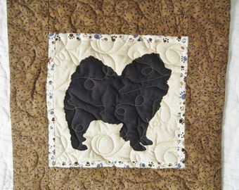 Chow Chow - Quilted Dog throw pillow 16 inches