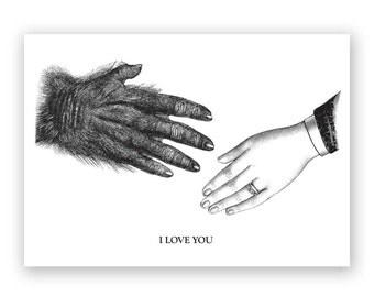 Interspecies Love Card