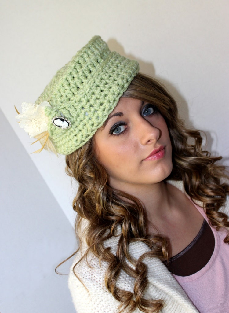 Crochet Hat Pattern For Vintage Inspired By Patternsbykrissy