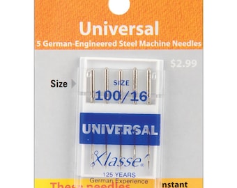 Klasse Machine NEEDLES - Universal 100/16 - 5 Count