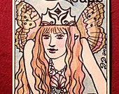 Dame Darcy Mermaid Tarot Edition 3, Tarot Decks,  Oracle, Fortune telling, Witch, Halloween, Divination, Cartomancy