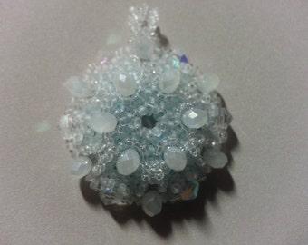 Graphene Ice Crystal Pendant
