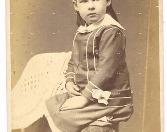 Child.Photograph.Antique.Vintage.Historic.cabinet photo.girl.home deco.collectible.rare.art.frame.eco.sepia.crafting.scrap book.retro.unique