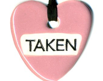 Taken Ceramic Necklace in Pink