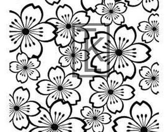 Sakura Blossoms Silk Screen (F35)