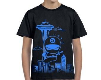 Kid Seattle Ninja  T shirts