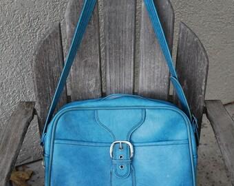VINTAGE  Messenger Carry-On Tote Bag Luggage