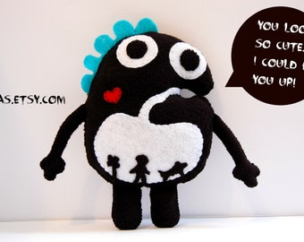 Chomp The Hungry Plush Monster / Stuffed Toy