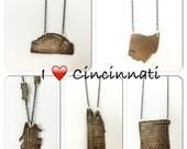 Cincinnati Historic buildings Necklaces