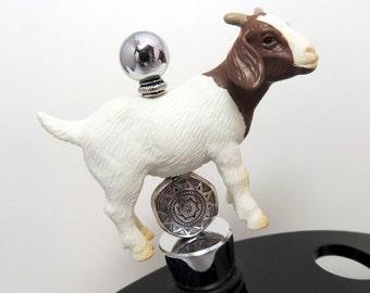 Boer Goat Kid Doe Nanny Buck Billy Goat Wine Stopper Gift  Farm Animals discontinued