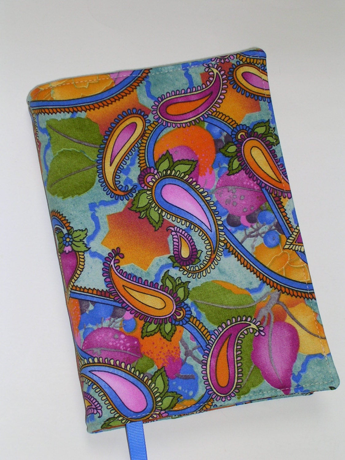 Fabric Book Cover Buy : Fabric book cover for trade size paperback books