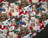 Puppies Christmas Tree Skirt, Cute Puppies Christmas Tree Skirt, Dog Lover Tree Skirt, Pet Lover Tree Skirt
