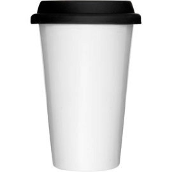 Plain blank travel mug