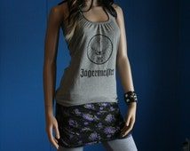 Jagermeister Jager custom halter top upcycled small