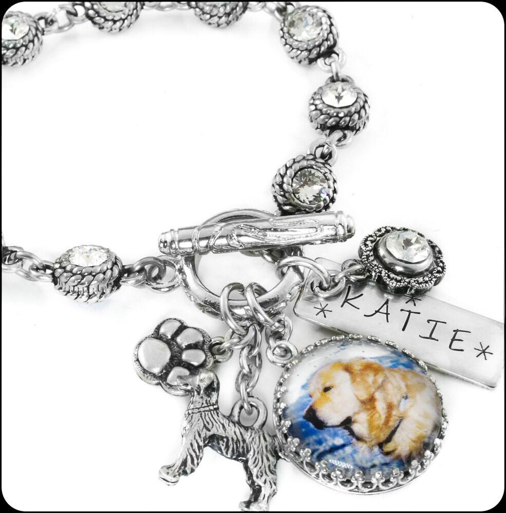personalized jewelry charm bracelet by