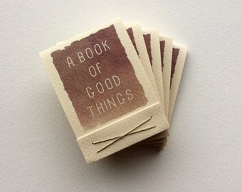 A book of good things