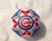 Chicago cubs handmade ornament