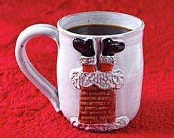 Santa Chimney Mug