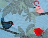 Birds of a Feather - IKEA Evalotta Cotton Fabric