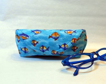 Eyeglass Case or Sunglass Case - Little Fishes