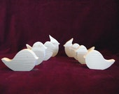 Large Assorted Songbird  Cutouts, Unfinished Pine