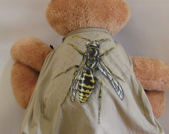 Child Cape or Apron: Bee or Hornet Handmade by Fashion Green T Bags