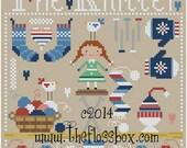 The Knitter Cross Stitch Pattern