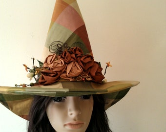Halloween Witch Hat Country Witches Hat, Adult Witch Costume