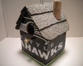 Seattle Seahawks License Plate Birdhouse