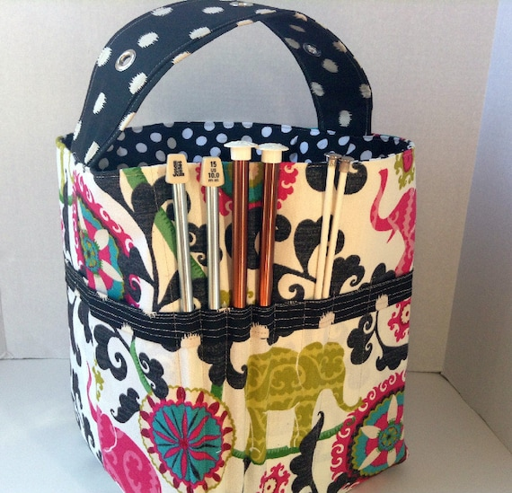 Knitting Pattern Storage Bag : Craft Store Knitting Needle Storage Knitting Crochet Storage
