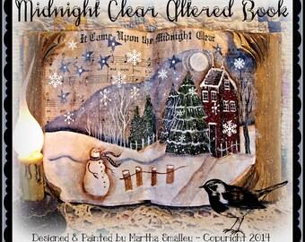 Apple Tree Cottage Original Design E Pattern  -  Midnight Clear