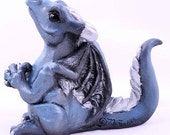 "OOAK Cute Dragon Sculpture Happy Dragons ""Mine!"" Pre-order First in the line of Happy Dragons!"