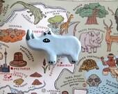 Rhino Drawer Knob